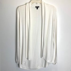 Express White Cardigan Long Sleeve Casual Sweater